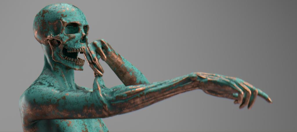 Fountain Statue - 01